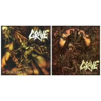 GRAVE : Dominion VIII CD/RR140 + Burial Ground CD/RR171 // pack