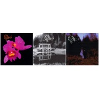OPETH : Orchid + Morningrise + My Arms, Your Hearse // 3CDs DIGISLEEVE versions