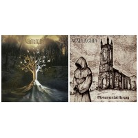 WALLACHIA : Shunya CD + Monumental Heresy CD DIGIPAK // 2CDs