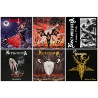 NECROMANTIA : Crossing + Scarlet + Ancient + Malice + Sound + PRINCIPALITYofHELL //pack 6CDs
