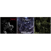 EMPEROR : Emperor / Wrath Of The Tyrant + In The Nightside Eclipse + Anthems To The Welkin At Dusk //pack 3CDs