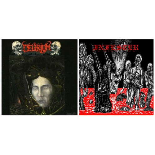 DELIRIUM - Zzooouhh + Demos/Live DCD + INFESTER - To The Depths... DCD // pack