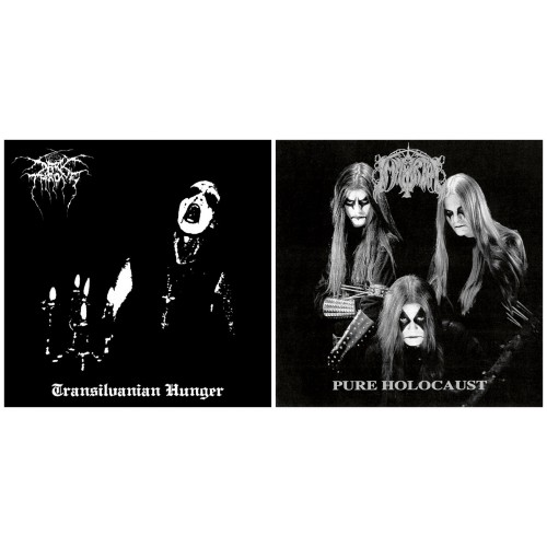 DARKTHRONE - Transilvanian Hunger CD + IMMORTAL - Pure Holocaust CD //pack 2CDs