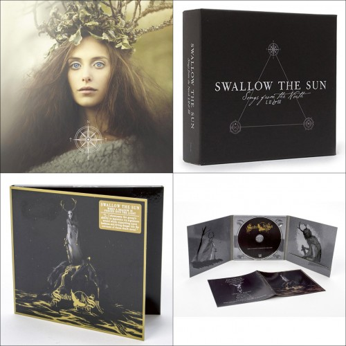 SWALLOW THE SUN : Songs From The North 3CD BOX + When A Shadow Is CD DIGIPAK