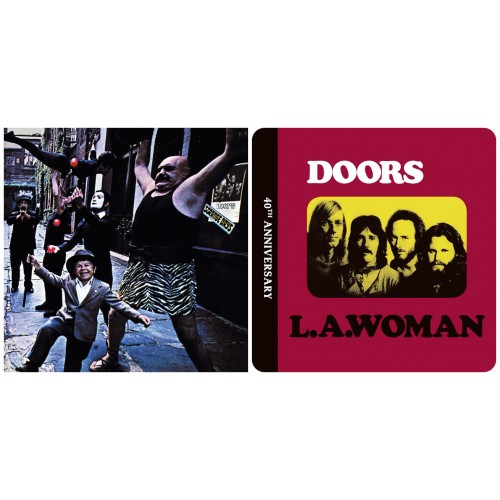 The DOORS ‎: Strange Days/50th CD DIGISLEEVE + L.A. Woman/40th DCD DIGISLEEVE