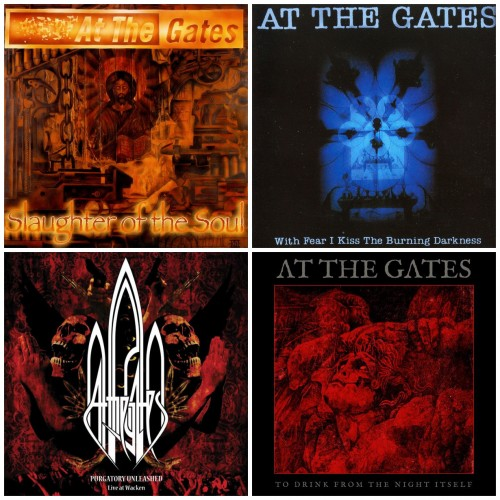 AT THE GATES (4CDs): With Fear + Slaughter + Live Wacken + To Drink From The //pack**