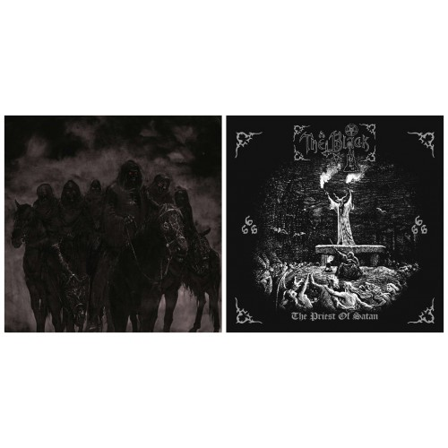 MARDUK - Those Of The Unlight CD + THE BLACK - The Priest Of Satan CD //pack