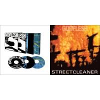 GODFLESH : Godflesh + Selfless + Us And Them 3CD BOX + Streetcleaner CD //4CDs