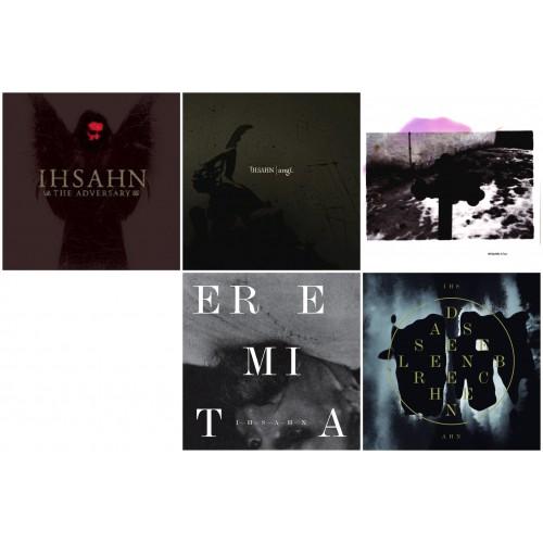 IHSAHN (5CDs) : The Adversary +angL +After +Eremita +Das Seelenbrechen //pack DIGISLEEVE