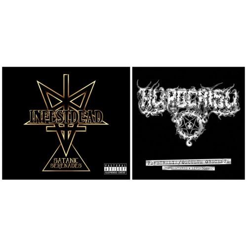 INFESTDEAD - Satanic Serenades + HYPOCRISY - Penetralia / Osculum Obscenum  pack