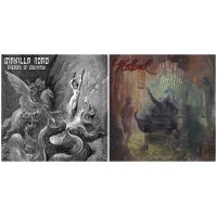 MANILLA ROAD - Dreams Of Eschaton DCD + HELLWELL - Behind the Demon's Eyes CD //pack