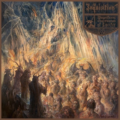 INQUISITION - Magnificent Glorification of Lucifer CD DIGIPAK
