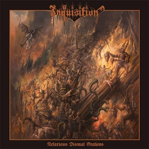 INQUISITION - Nefarious Dismal Orations CD DIGIPAK