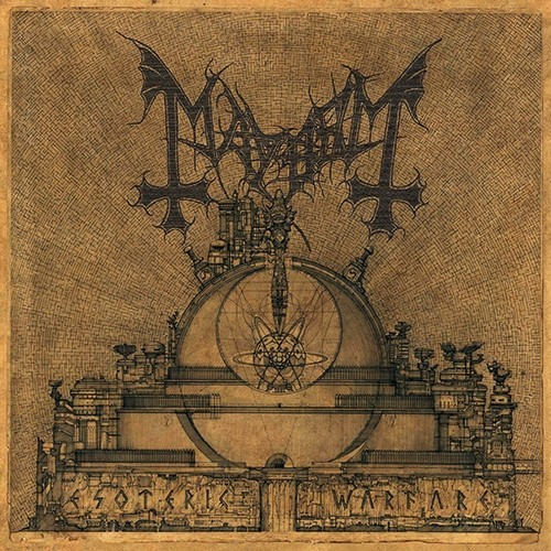 MAYHEM - Esoteric Warfare CD