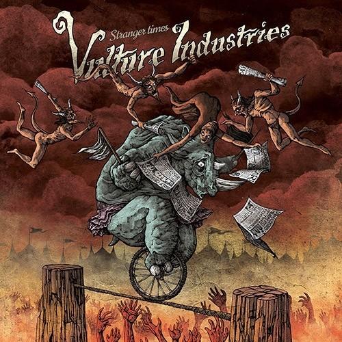 VULTURE INDUSTRIES - Stranger Times CD DIGIPAK
