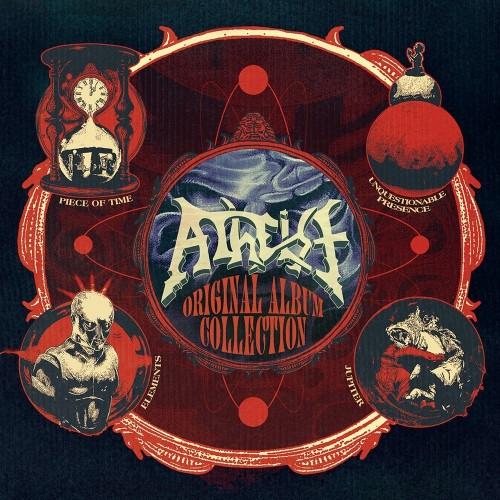 ATHEIST - Original Album Collection 4CD BOX