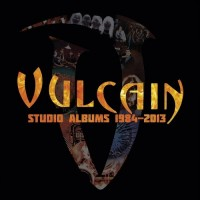 VULCAIN - Studio Albums 1984-2013 8CD BOX