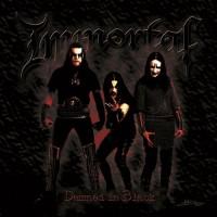 IMMORTAL - Damned In Black CD