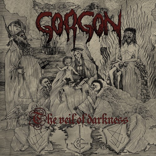 GORGON - The Veil Of Darkness CD