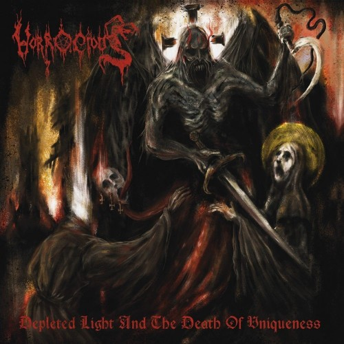 HORROCIOUS - Depleted Light And The Death Of Uniqueness CD